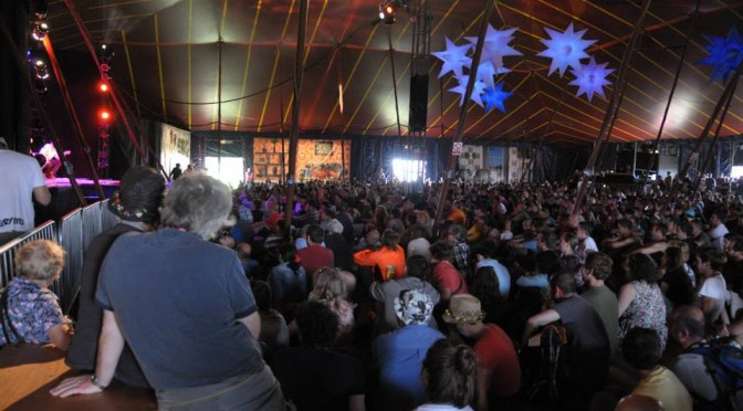 Big Top 45mx45m Glastonbury Festival
