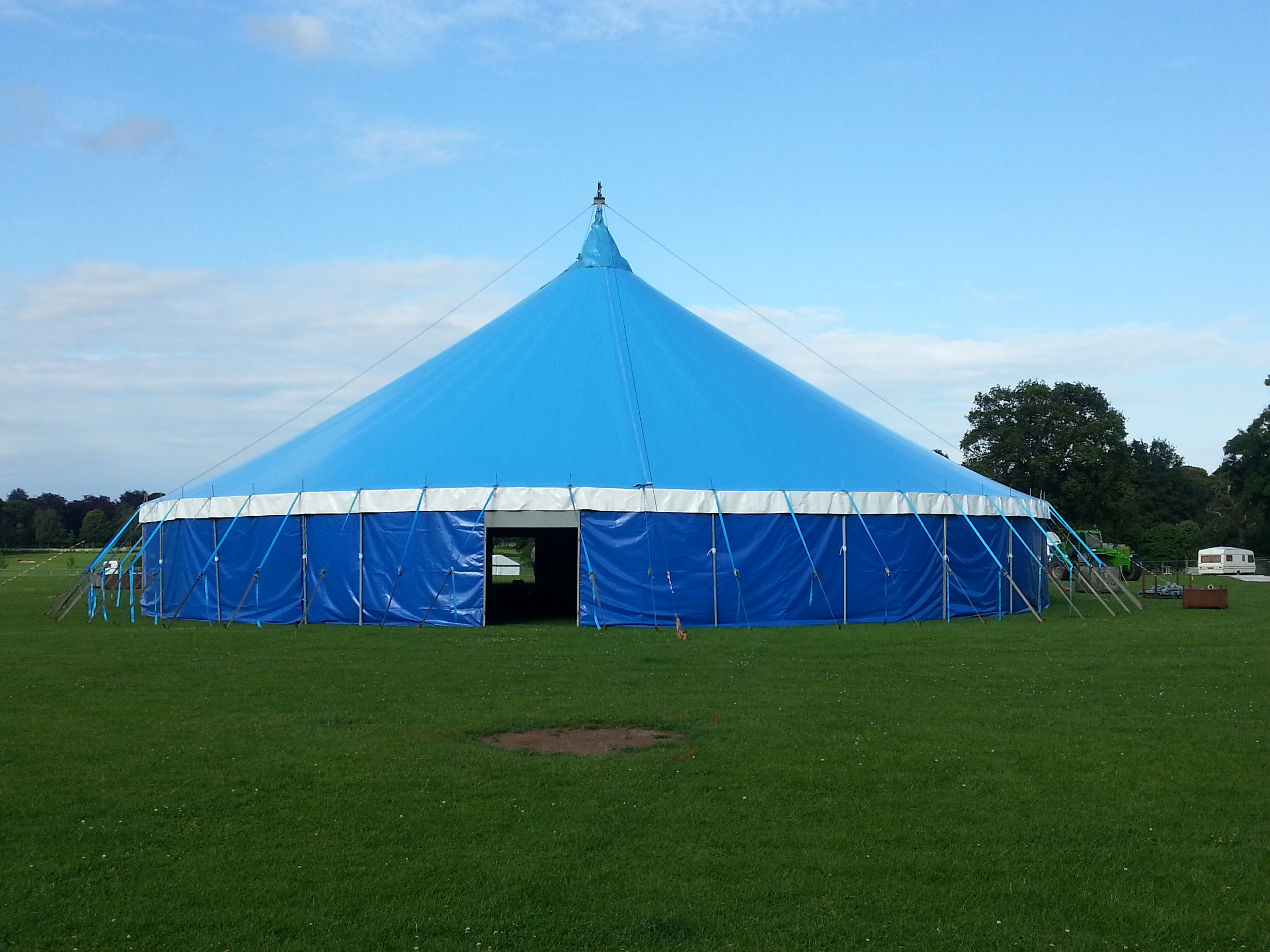 We now have a brand new replacement Blue Big Top Tent which has incorporated modern design enhancements over the original. This popular big top tent has ... & New Blue Tent | Albion Woods