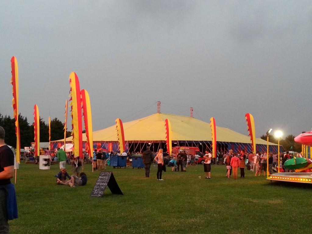 Circus Tent Hire Dorset