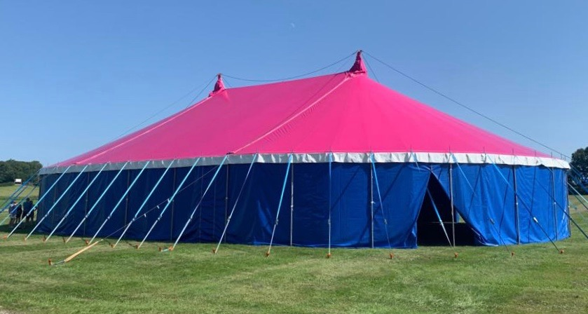 Lockdown Project Pink Tent